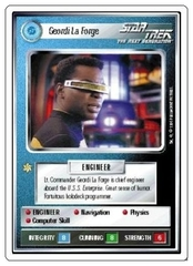 Geordi La Forge [White Border Beta]