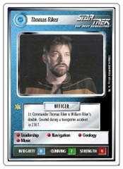 Thomas Riker [White Border Beta]