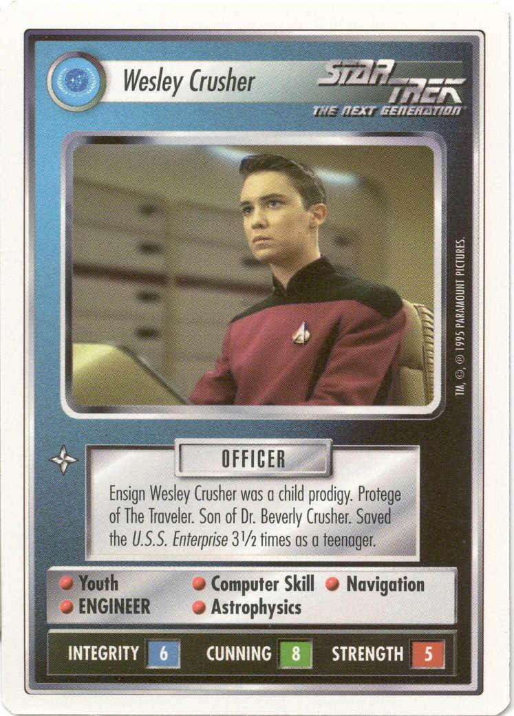 Decipher Star Trek Next Generation White Border Edition Starter Deck CCG TCG