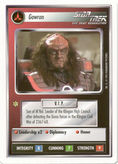 Gowron [White Border Beta]