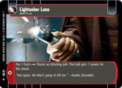 Lightsaber Loss