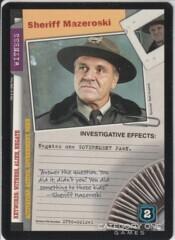 Sheriff Mazeroski