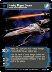 X-wing Rogue Seven