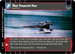 Most Desperate Hour