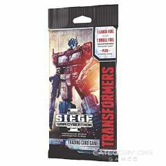 3 x Transformers TCG - War for Cybertron Siege I Booster Packs