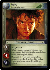 Frodo, Frenzied Fighter
