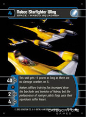 Naboo Starfighter Wing - Foil