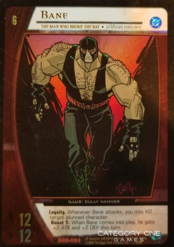 Bane, The Man Who Broke the Bat (EA)