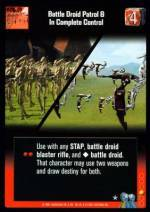 Battle Droid Patrol & In Complete Control