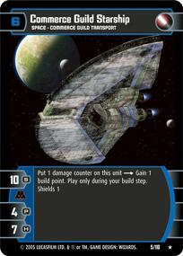 Commerce Guild Starship (ROTS)