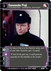 Commander Praji (A) - Foil