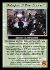 Babylon 5 War Council