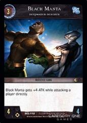 Black Manta, Deepwater Denizen - Foil