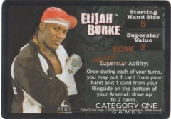 Elijah Burke Superstar Card