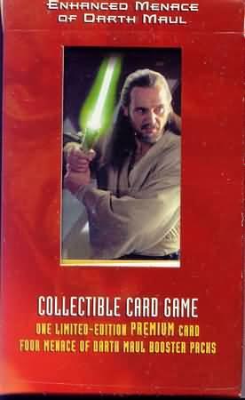 Enhanced Menace of Darth Maul Qui-Gon Jinn, Jedi Protector Pack