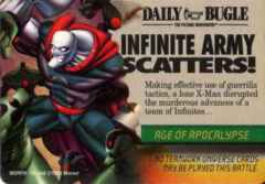 Mission: Event Age of Apocalypse: Infinite Army Scatters