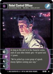Rebel Control Officer