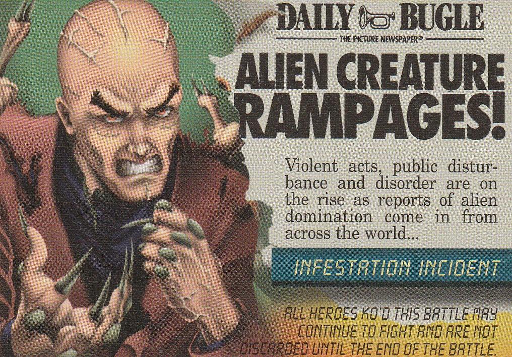 Mission: Event Infestation Incident: Alien Creature Rampages (No TM/Date)