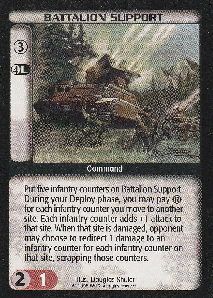 Battalion Support