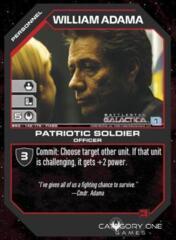 William Adama Patriotic Soldier (Foil)