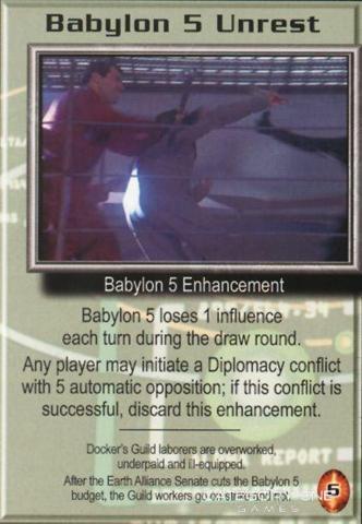 Babylon 5 Unrest