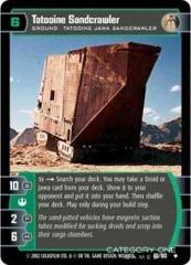 Tatooine Sandcrawler - Foil