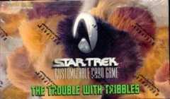 Trouble with Tribbles 84 card Uncommon/Common Set