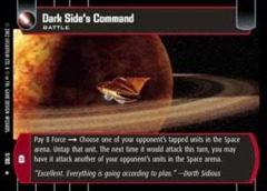 Dark Side's Command