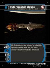 Trade Federation Warship - Foil
