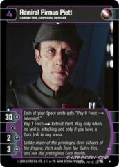 Admiral Firmus Piett (C) - Foil