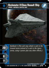 Acclamator II-Class Assault Ship - Foil