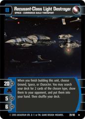 Recusant-Class Light Destroyer