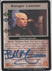 Ranger Lennier (signed by Bill Mumy) [Severed Dreams]