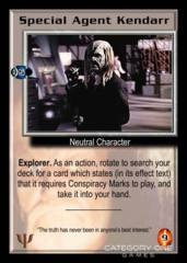 Special Agent Kendarr