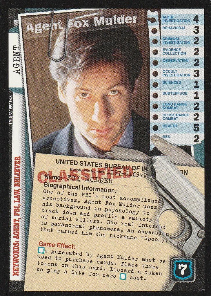Agent Fox Mulder