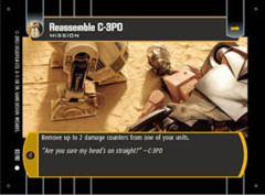 Reassemble C-3PO