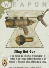 Sling Net Gun