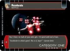 Accelerate - Foil