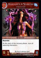 Koriand'r, Starfire, X'Hal's Fury - Foil