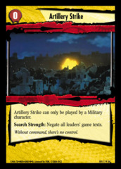 Artillery Strike 7/9d
