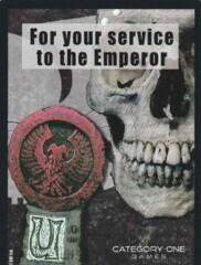 For the Service of the Emperor - FOIL