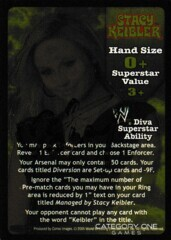 Stacy Keilber Superstar Card (SS3) - Signed