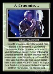 A Crusade... (for profit)