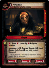 Martok, Soldier of the Empire - Foil