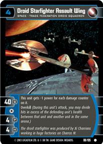 Droid Starfighter Assault Wing