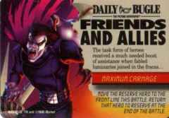 Mission: Event Maximum Carnage: Friends and Allies