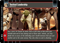 Tactical leadership