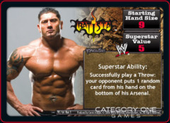 REVOLUTION Batista Superstar Card