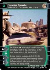 Tatooine Speeder - Foil