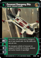 Coruscant Emergency Ship